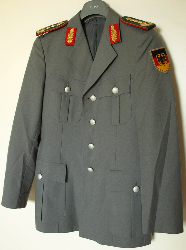 bw bundeswehr uniform jacke mit general effekten ebay. Black Bedroom Furniture Sets. Home Design Ideas
